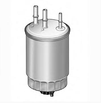 Фильтр топливный SsangYong D20DT (дизель)