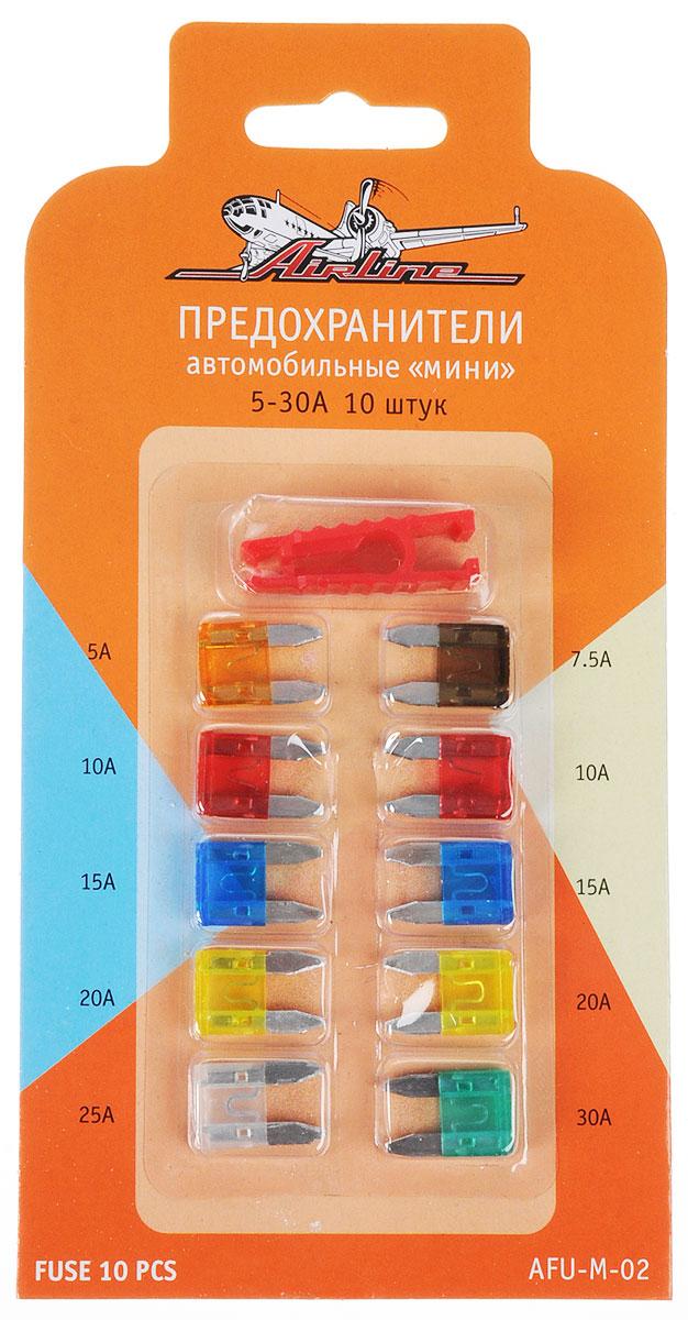 Предохранитель флажковый MINI набор из 10шт 7,5-30A в блистере