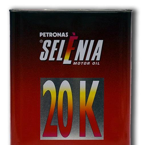 Полусинтетическое моторное масло SELENIA 20K 10W-40 2 литра.