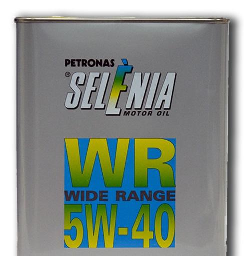 Синтетическое моторное масло SELENIA WR 5W-40 2 литра.