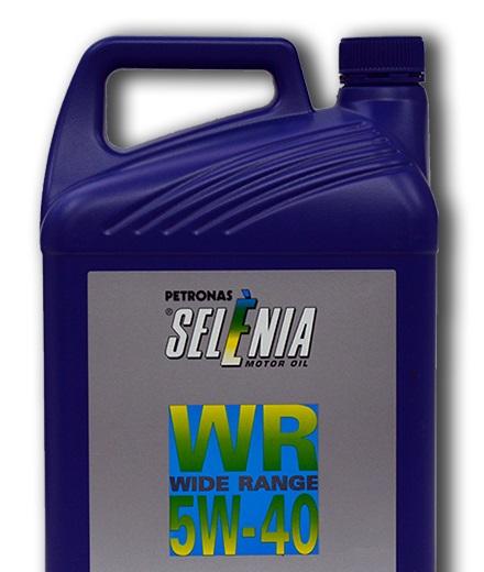 Синтетическое моторное масло SELENIA WR 5W-40 5 литров.