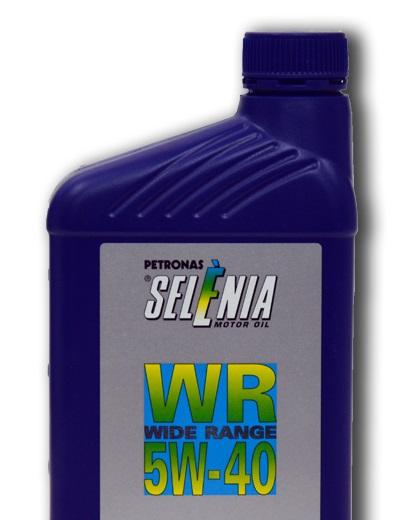 Синтетическое моторное масло SELENIA WR 5W-40 1 литр.