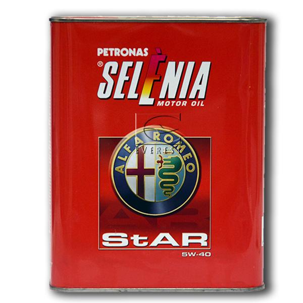 Синтетическое моторное масло SELENIA StAR 5W40 2 литра