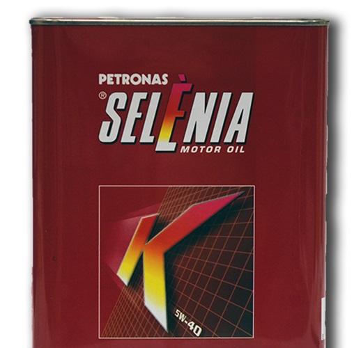 Синтетическое моторное масло SELENIA K 5W-40 2литра.