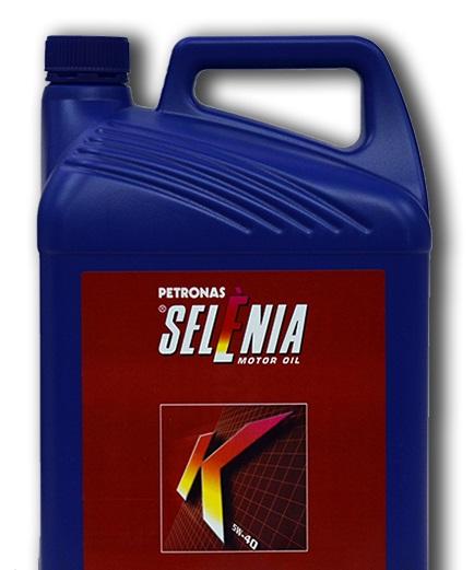 Синтетическое моторное масло SELENIA K 5W-40 5литров.