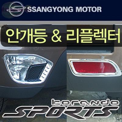 Молдинг противотуманной фары SsangYong Actyon Sports New