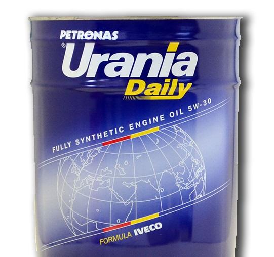 Синтетическое моторное масло URANIA DAILY 5W30 20 литров.
