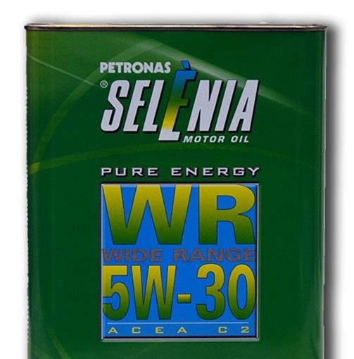 Моторное масло SELENIA WR PURE ENERGY 5W30 2 л.