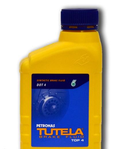 Тормозная жидкость (dot4) TUTELA BRAKE FLUID TOP 4 0,5 л.