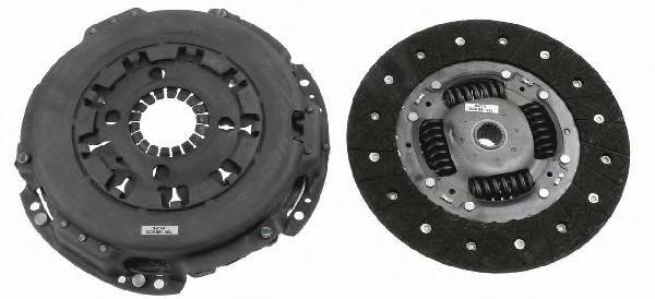 Комплект сцепления (корзина и диск) Fiat Ducato New(250) 2.3MJTD.