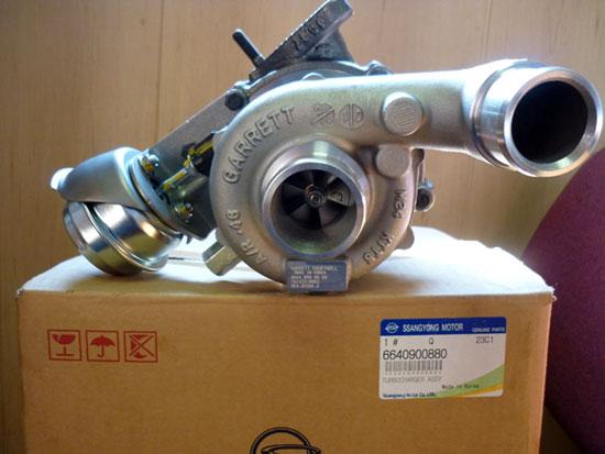 Турбина (турбокомпрессор) SsangYong Kyron/Actyon D20DT