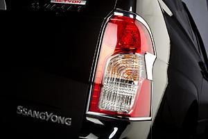 Молдинг заднего фонаря хромированный SsangYong Actyon Sports New