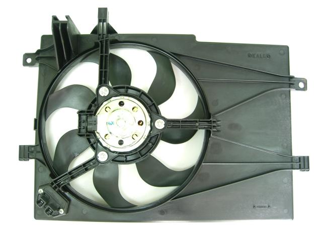 Вентилятор радиатора охлаждения  Fiat Albea (+AC)