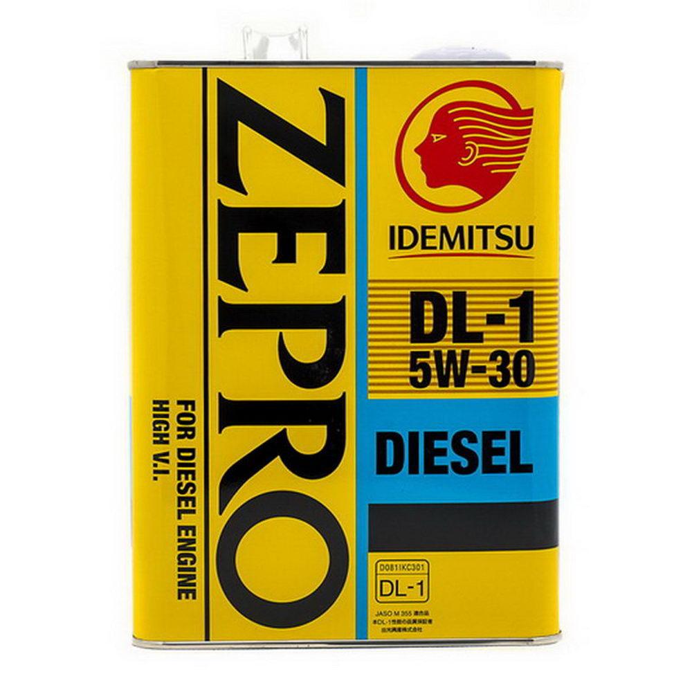 Моторное масло (дизельный мотор) IDEMITSU Zepro Diesel DL-1 5W-30 4л