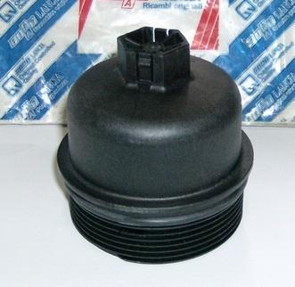Крышка масляного фильтра Doblo 1.3MJTD/Linea 1.4 Turbo