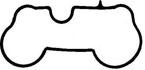 Прокладка уплотнительная впускного коллектора SsangYong Rexton/Kyron/Actyon 2,3 (бенз.)