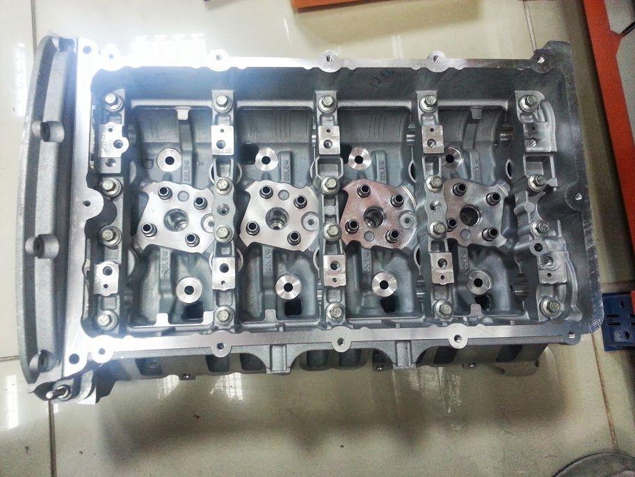 Головка блока цилиндров в сборе с клапанами Fiat Ducato/PSA Boxer III 06-> 2.2Hdi PUMA